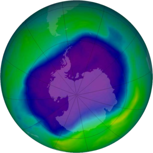 Buco Ozono diminuisce