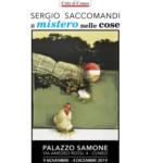 Il mistero delle cose dipinti: la mostra Sergio Saccomandi